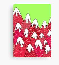 Strawberry Mountains Canvas Print