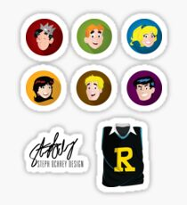Archie Comics Sticker Pack Sticker