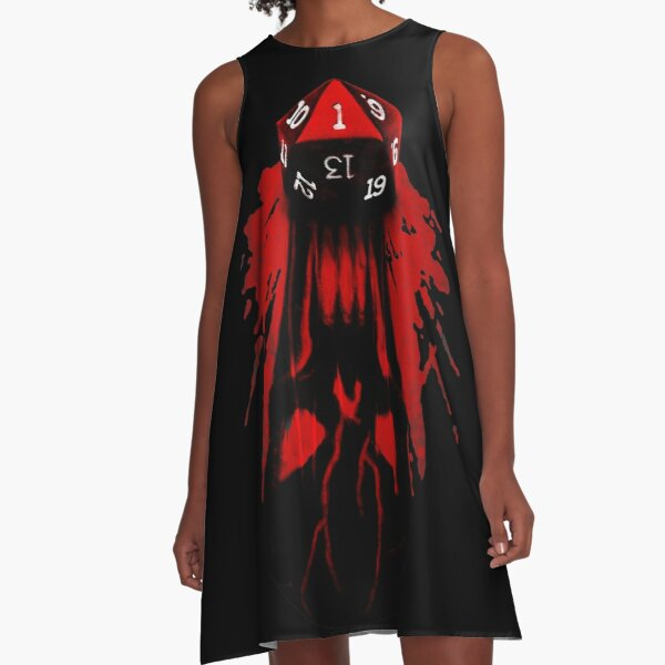 Critical Fail A-Line Dress