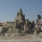 Sand Castles @ their best - Local sand art competiton Bolsa Chica State Beach, CA by leih2008