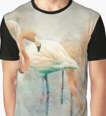 Flamingo Fantasy Graphic T-Shirt