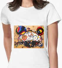 Tan Tan Bo by Takashi Murakami Womens Fitted T-Shirt