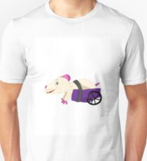 Tea Cup And Her Wheelchair Unisex T-Shirt