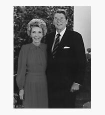 Ronald und Nancy Reagan Fotodruck
