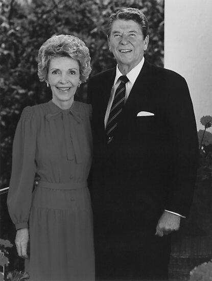 Ronald And Nancy Reagan by warishellstore