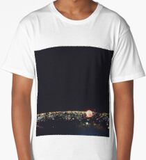 Fireworks on independence day Long T-Shirt