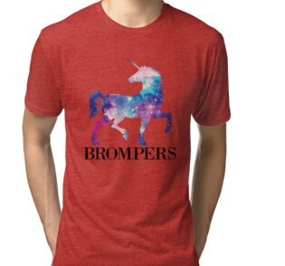 5703a001c446 Sudaderas con capucha «Brompers Unicorn Tshirt- camiseta de hombre ...