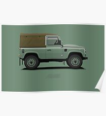 Defender 90 Heritage Last Production Poster