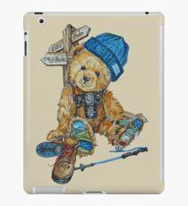 Hill Walking Teddy Bear iPad Case/Skin