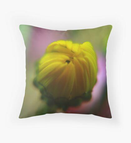 Unfurled Throw Pillow