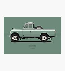 Series 3 PickUp 109 Light Green Photographic Print