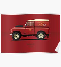 Series 3 Station Wagon 88 Royal Mail Bus Poster