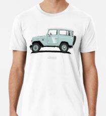 Land Cruiser FJ40 HardTop Blue Men's Premium T-Shirt