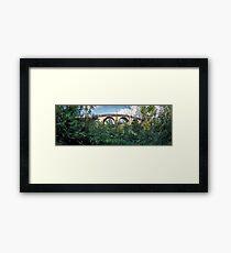 Lapstone Railway Bridge Framed Print