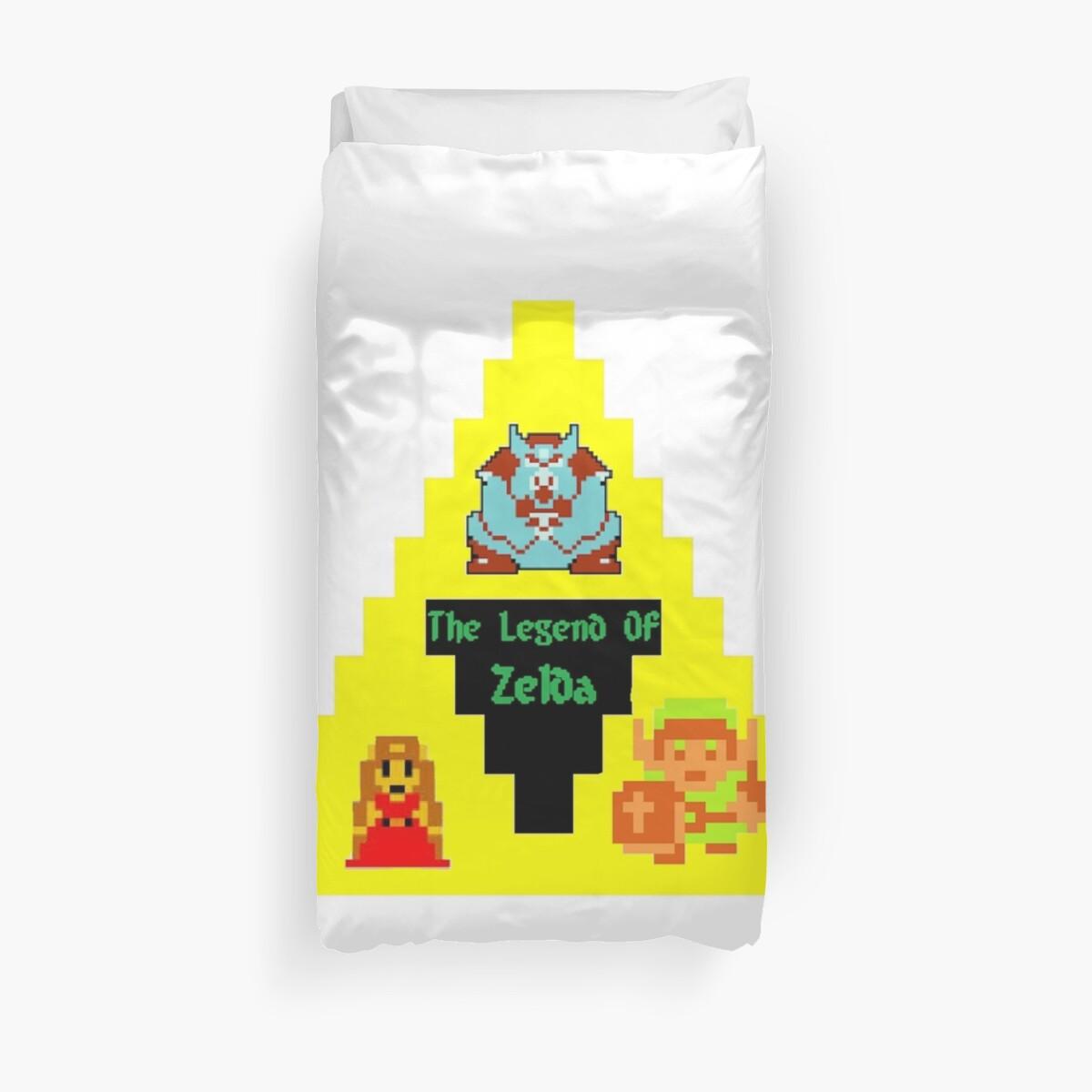 8 Bit Zelda Characters