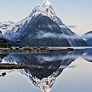 Mitre Peak - Milford Sound by Kimball Chen