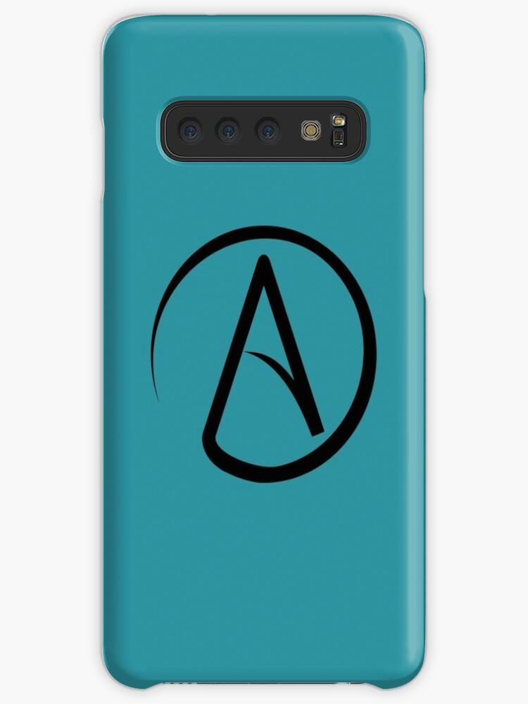 'Atheism Symbol' Case/Skin for Samsung Galaxy by Delta12Designs