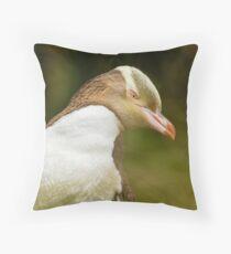 Yellow-eyed Penguin - New Zealand Throw Pillow