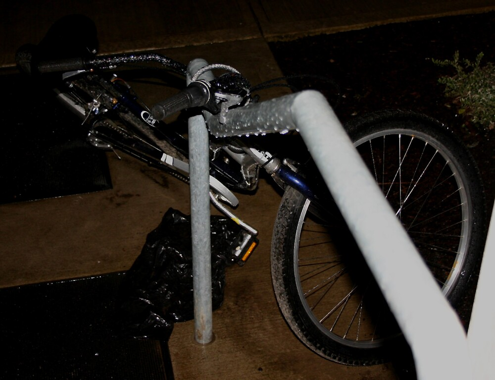 Uncommon Bike Rack by Megan Buff