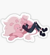 Soft Pink Zombies Sticker