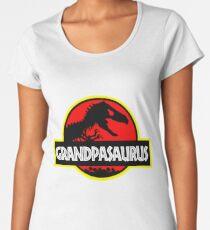 Grandpasaurus - T Rex - Funny Grandpa T-Shirts Women's Premium T-Shirt