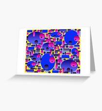 Blue Holes Greeting Card