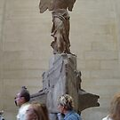 Winged victory of samothrace-Louvre Paris by DES PALMER
