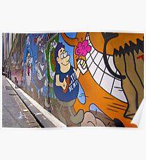 0454 Hosier lane 2 Poster