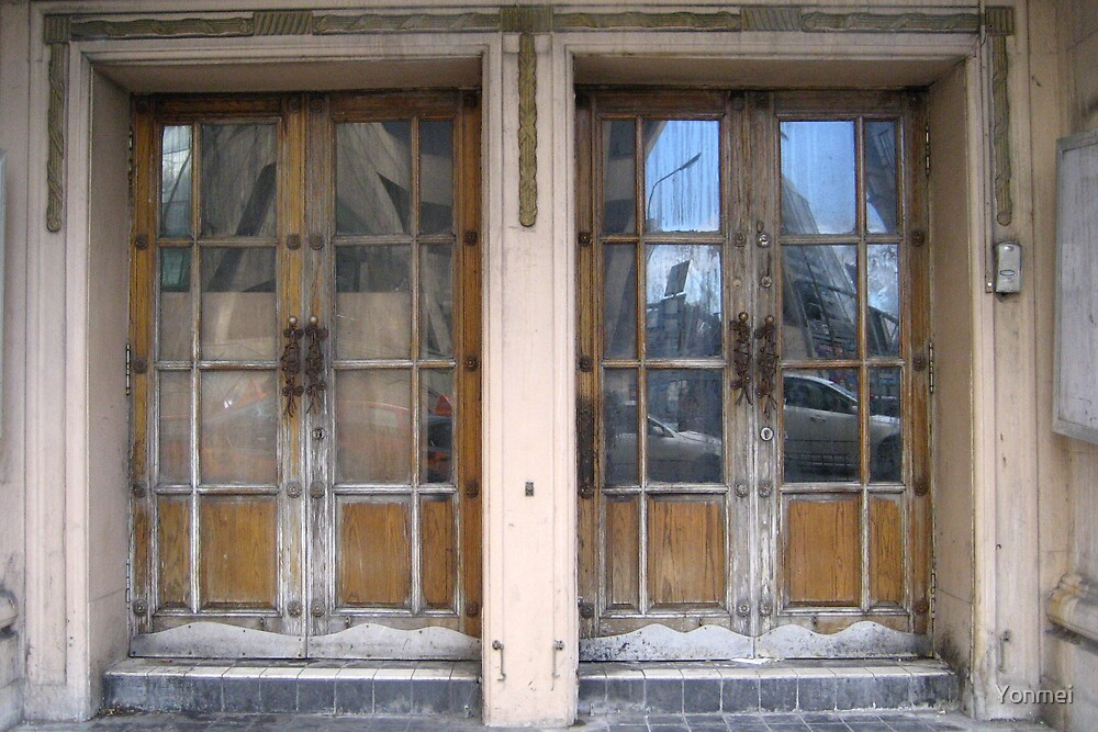 Doors reflecting by Yonmei