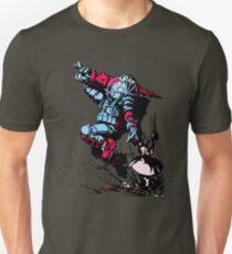 Red Blue Bio shock T-Shirt