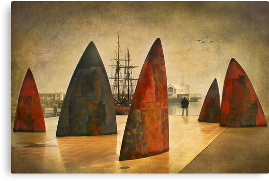 0461 Admiring the view - Geelong by Hans Kawitzki