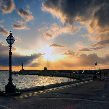 Sunset in Margate by Knobrot