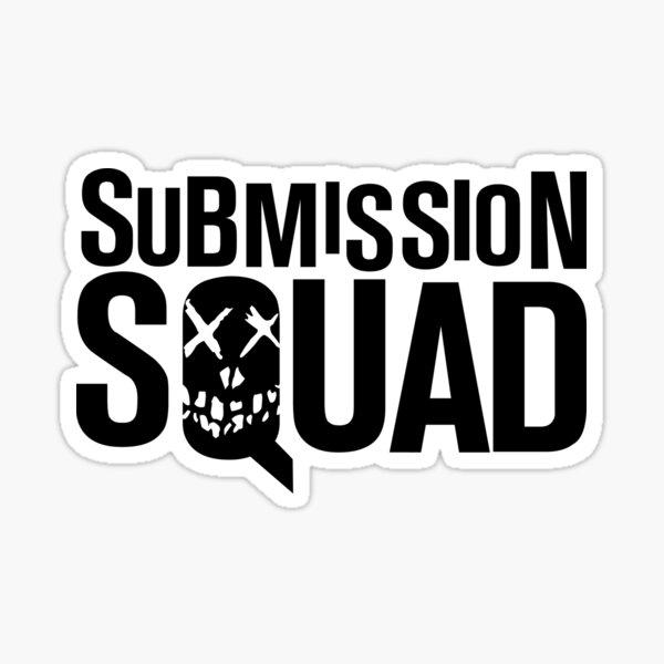Submission Squad (Brazilian Jiu Jitsu / BJJ) Sticker