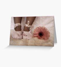 ~ Little Feet ~ Greeting Card