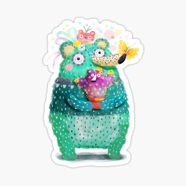 Blue-ish bear Sticker