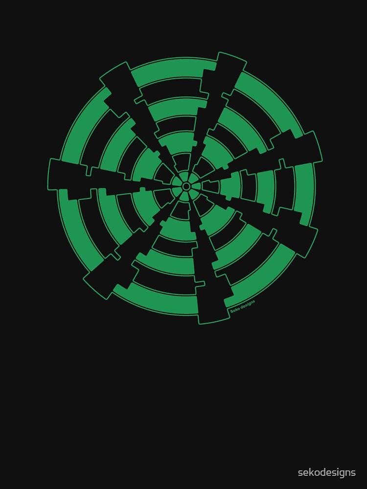 Mandala 30 Green With Envy by sekodesigns