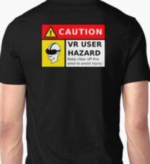 VR User HAZARD - CAUTION T-Shirt