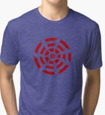 Mandala 30 Colour Me Red Tri-blend T-Shirt