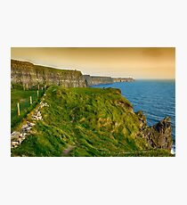 cliffs of moher county clare ireland Photographic Print