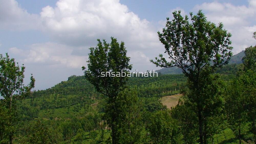 nature scenery by snsabarinath