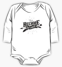 WE BECOME black edition One Piece - Long Sleeve