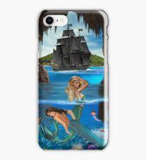 Mermaids of the Pirate Cave iPhone Case/Skin