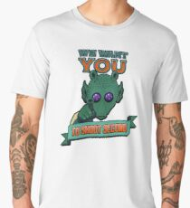Greedo Wants You To Shoot Second Men's Premium T-Shirt