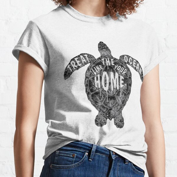 OCEAN OMEGA (MONOCHROME) Classic T-Shirt