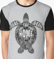 OCEAN OMEGA (MONOCHROME) Graphic T-Shirt