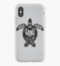OCEAN OMEGA (MONOCHROME) iPhone Case