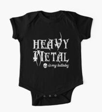 Heavy Metal is My Lullaby Kids Clothes