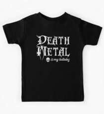 Death Metal is My Lullaby Baby Bodysuit Kids Clothes