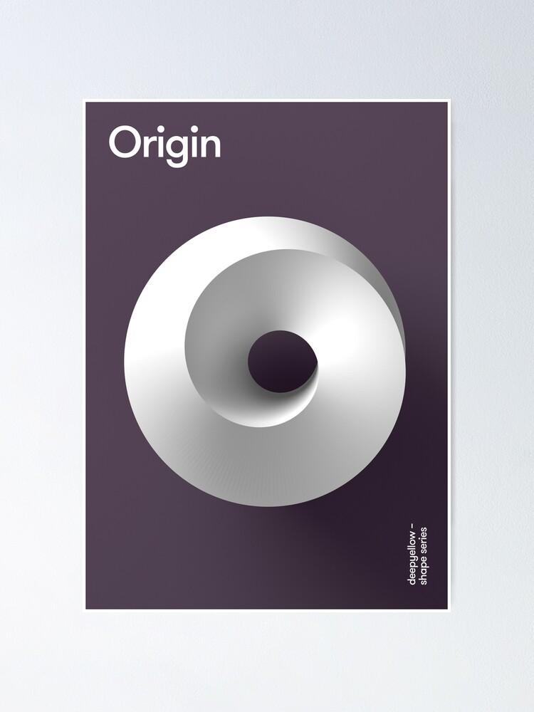 Alternate view of Origin Deepshape Poster