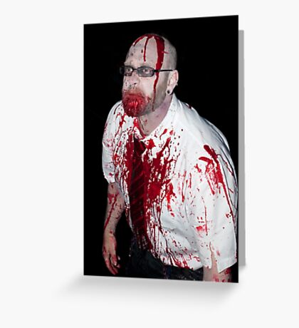 0764 Zombie 58 Greeting Card